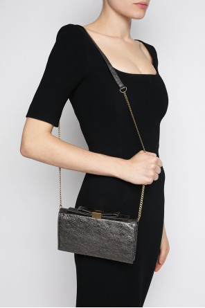 'nora' metallic shoulder bag od See By Chloe